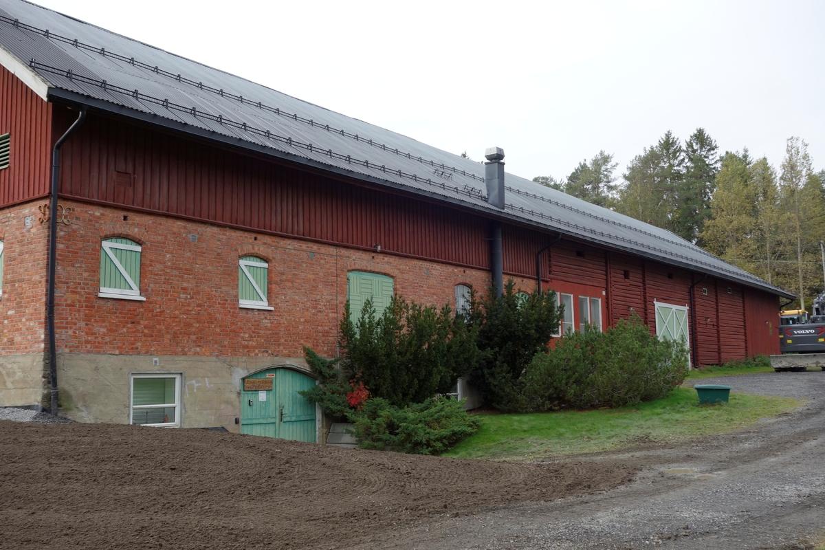 Låve Skårer gård, fra 1860