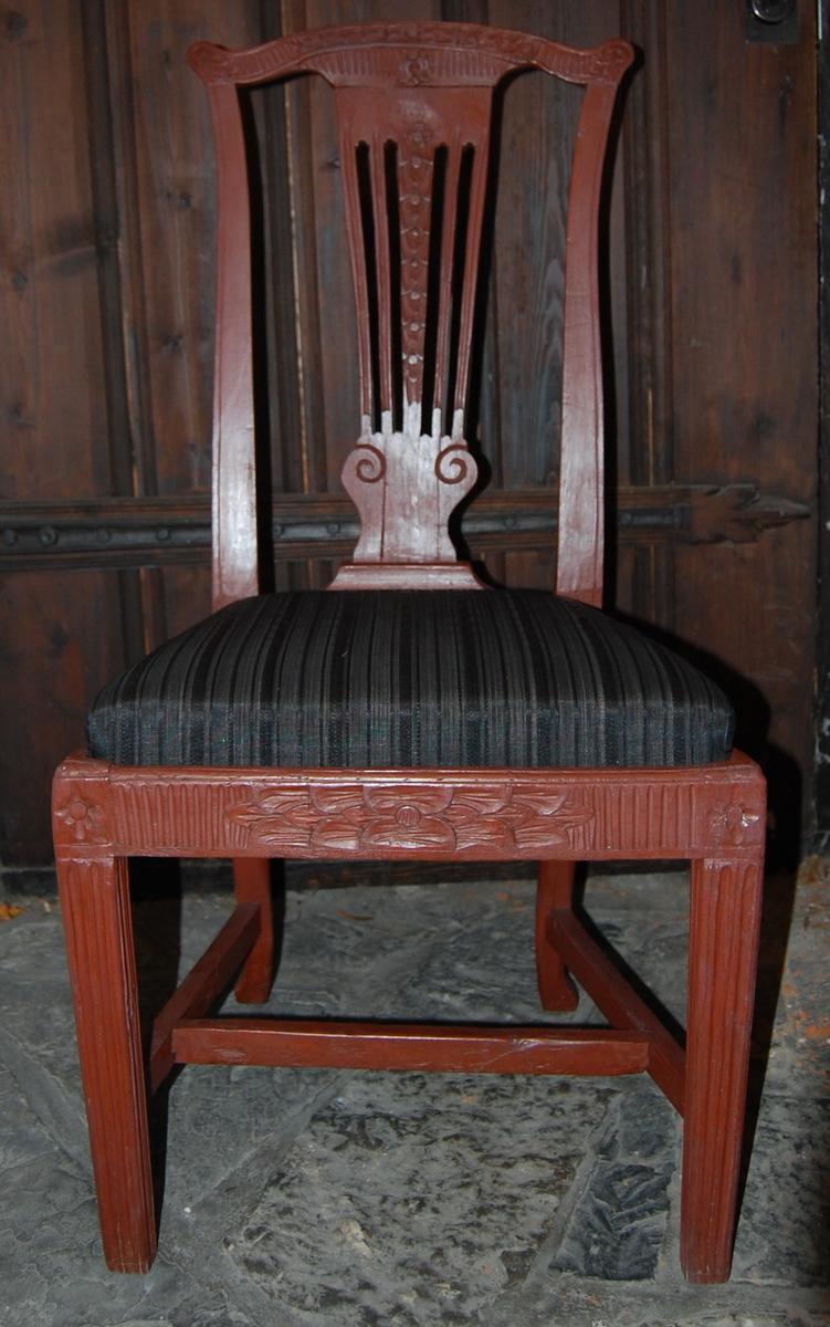 Brunmalte, nye seter med hestehårstrekk.