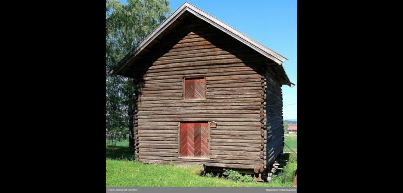 Telthuset slik det sto på Hadeland Folkemuseum (Foto/Photo)