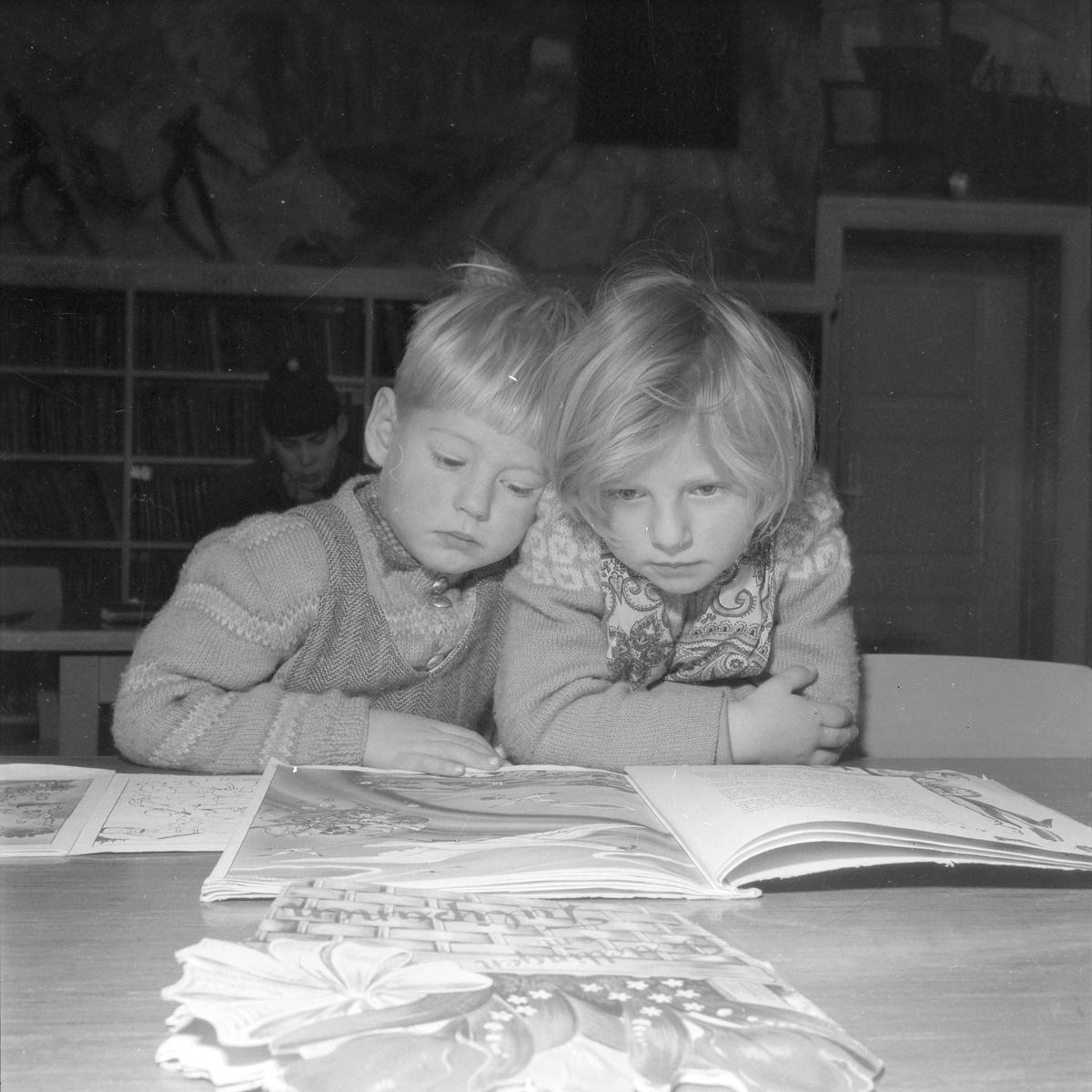 Barneavdelingen ved Folkebiblioteket
