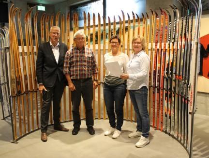 Fra venstre: Ola T. Heggem, Johan Landsem, Inger Grøseth Landsem, Kari-Elin B. Løfaldli