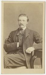 Porträtt av Henrik August Thollander, kapten vid Andra livgr