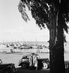 Fra Norsk Jernbaneforbunds landsmøte i Tønsberg, 1949.