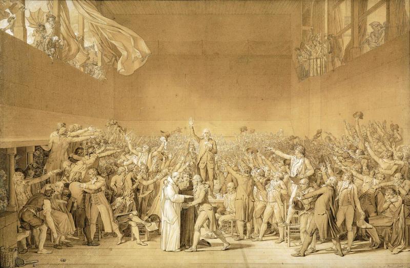 Et folkeopprør i en sal