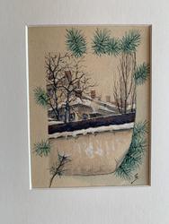 Vintermotiv [Målning]