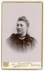 Porträtt av okänd kvinna (Ida ?).