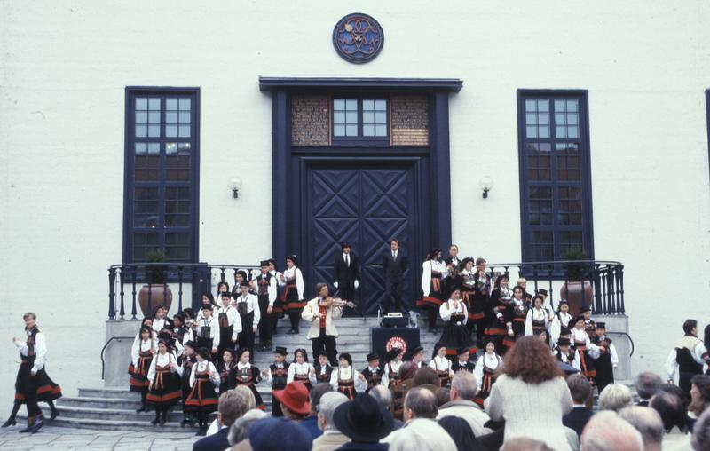 Åpningen av 100 års feiringa 7. mai 1994.