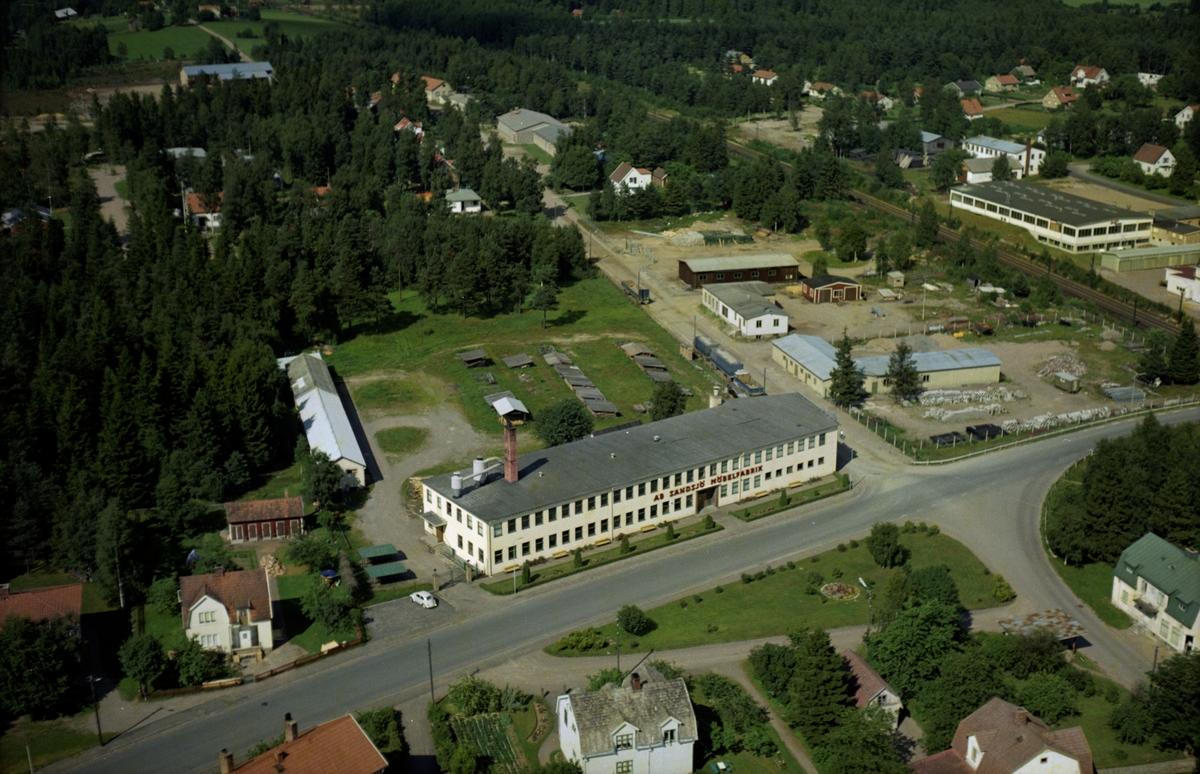 Flygfoto över Bodafors i Nässjö kommun, Jönköpings län. 1236/ 1966