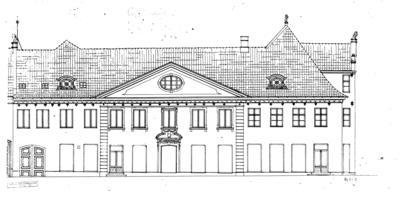 NF.216 Bygård fra Kirkegata 15 Colletgården