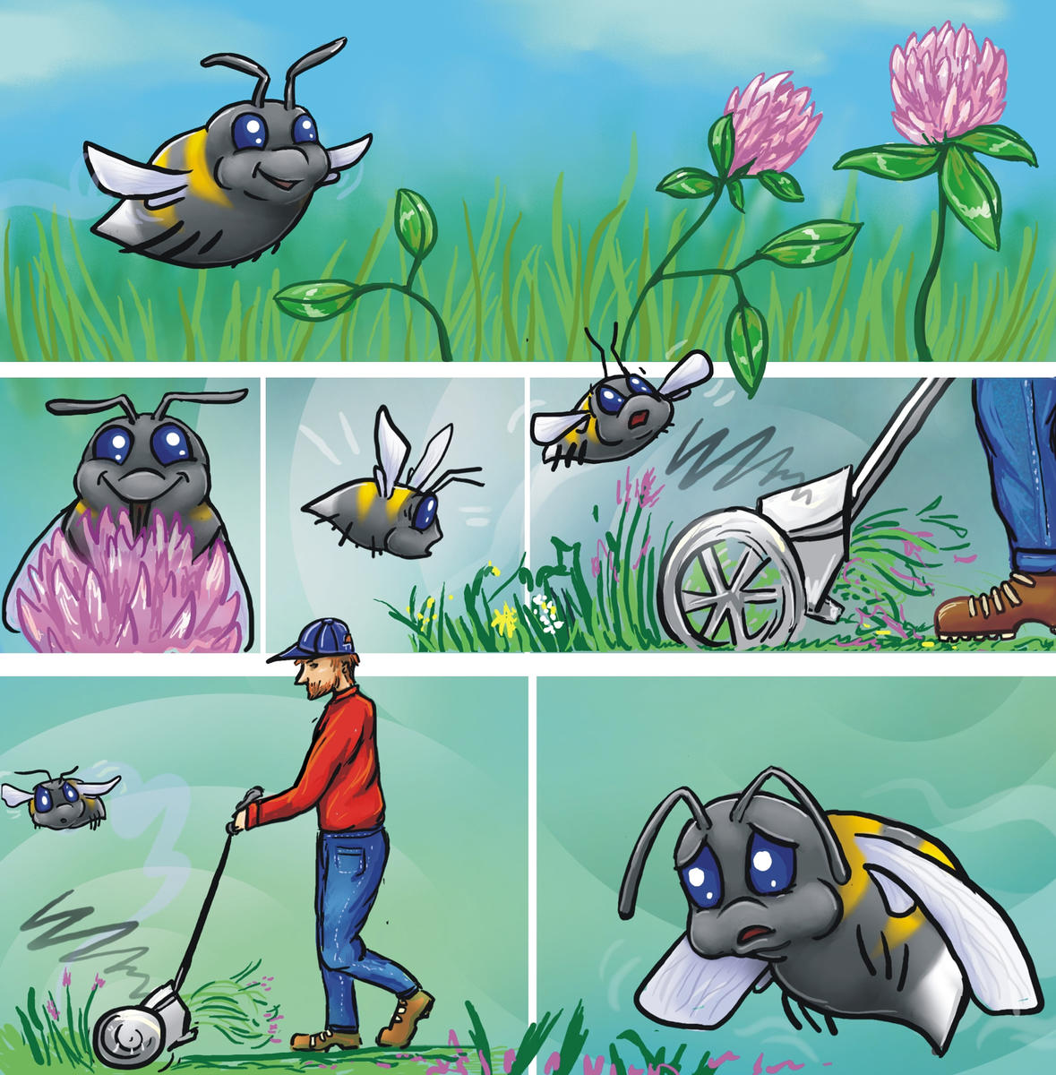 Illustrasjon: La Humla Suse/humlekroken.no / Illustrasjon: La Humla Suse/humlekroken.no