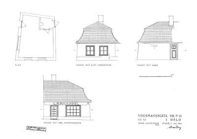 223 Forstadshus fra Vognmannsgata 9 (Foto/Photo)