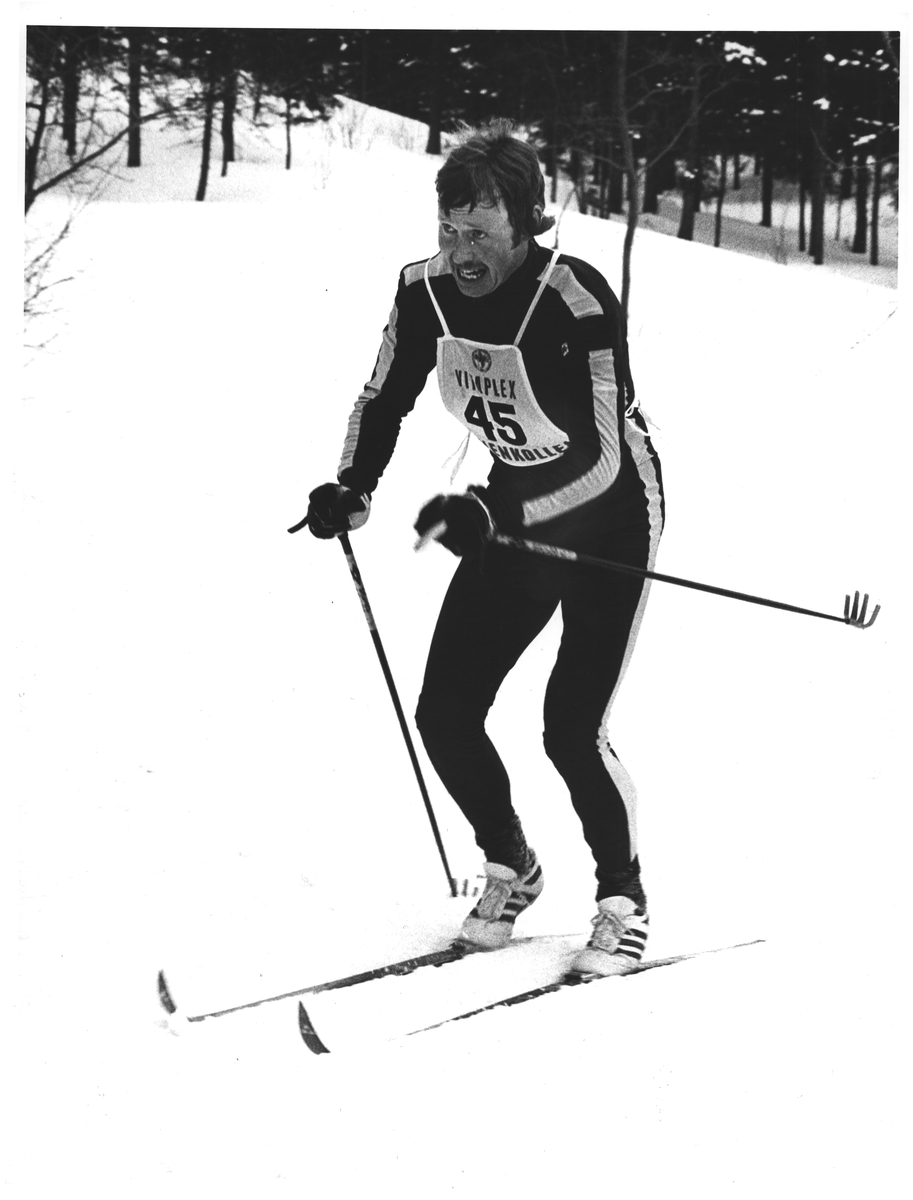 """Kollen"". Per Knut Aaland ble nr. 2 på 50 km"