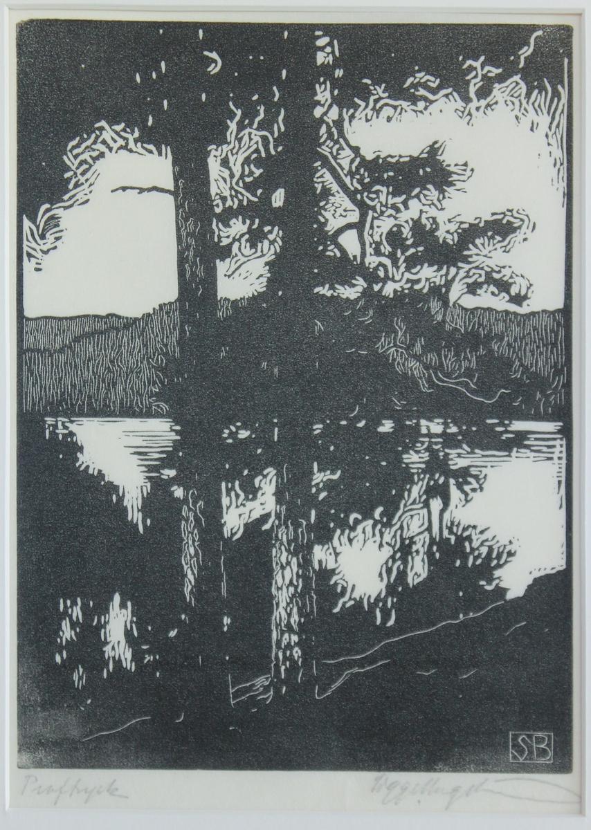 Op.8. Värmländskt landskap [Träsnitt]