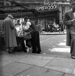 Frukstselger i London.