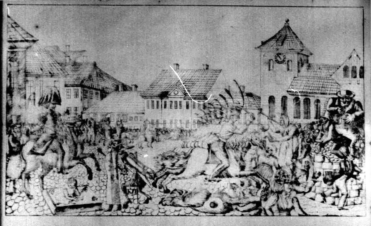 Torgslaget i Christiania.