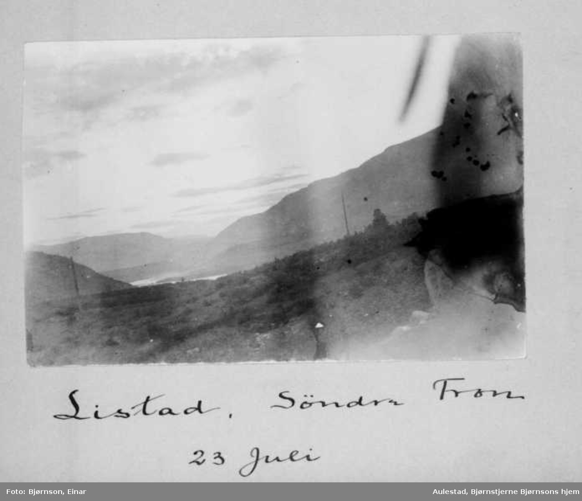 Album, landskap,