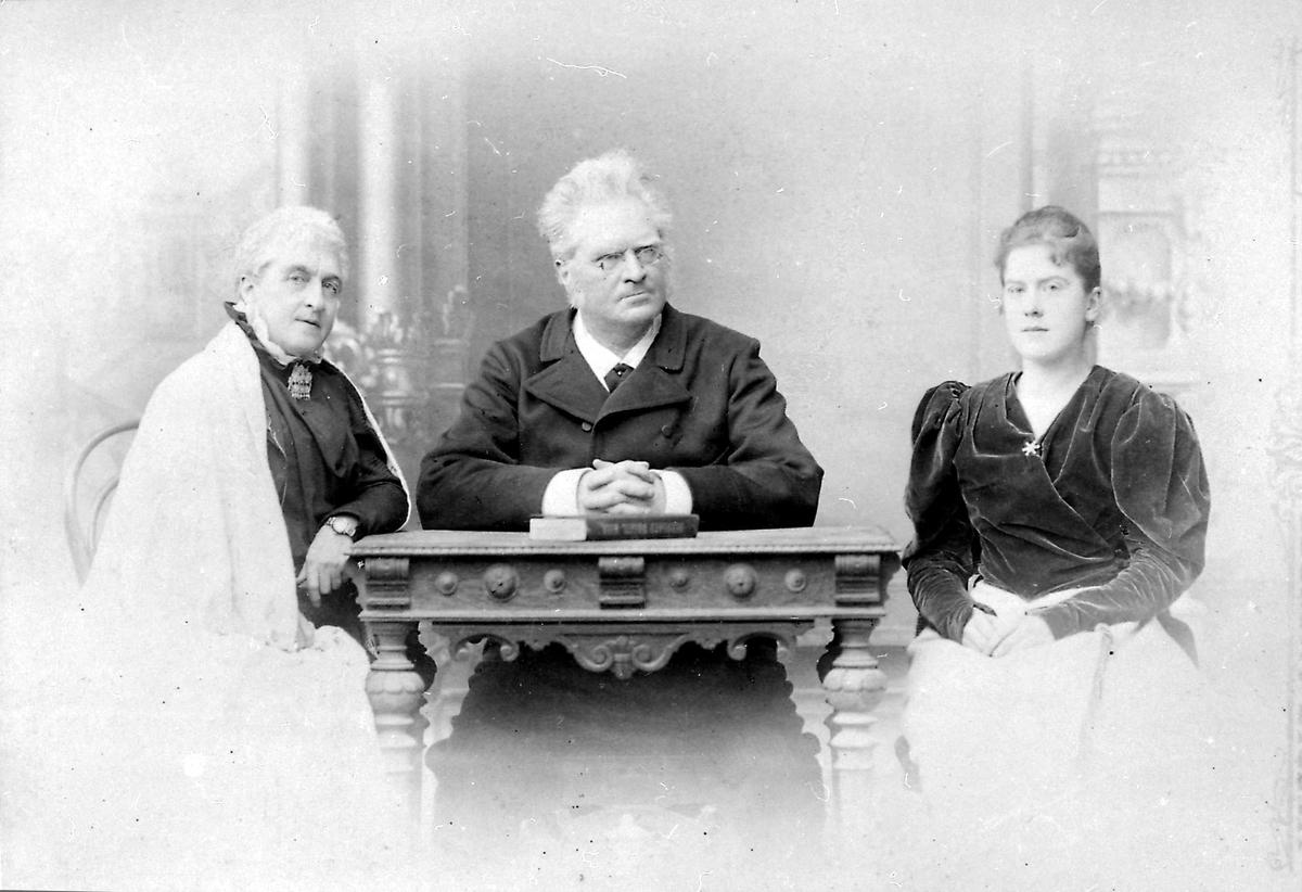 Bjørnson, familie, Schwaz,