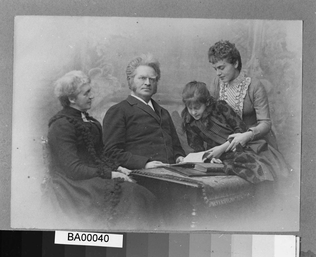 Bjørnson, familie, Paris,