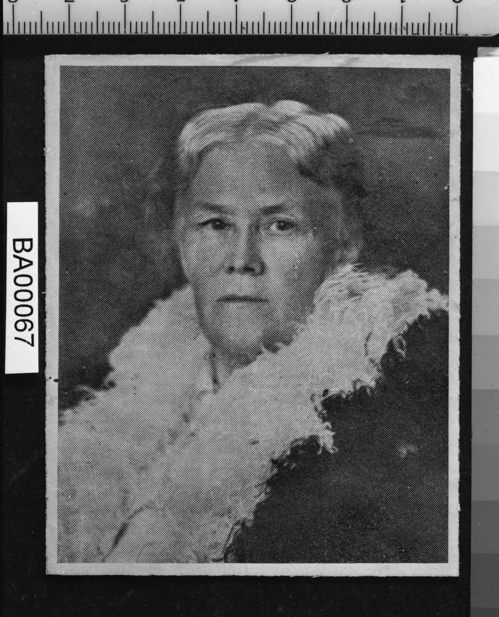 Ann Margret Holmgren, portrett,