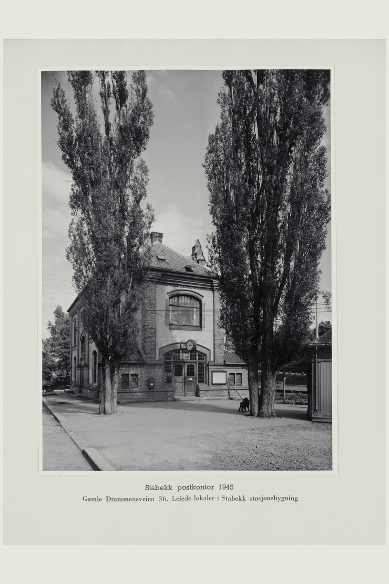 eksteriør, postkontor, 1320 Stabekk, postkasse