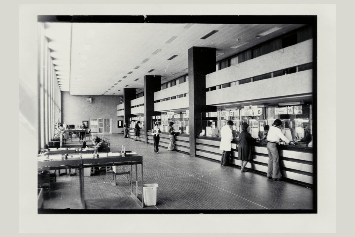 interiør, postkontor, 4001 Stavanger, kunder