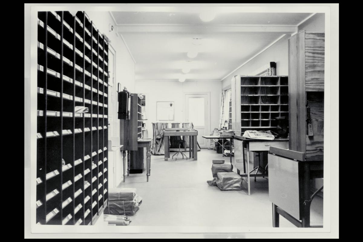 interiør, postkontor, 2050 Jessheim, postbokser, budrom