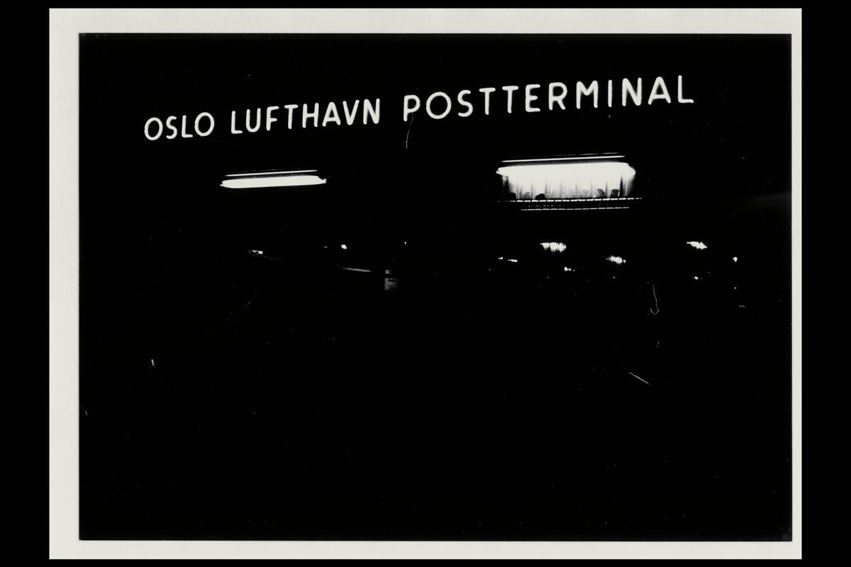 interiør, Oslo Lufthavn postterminal