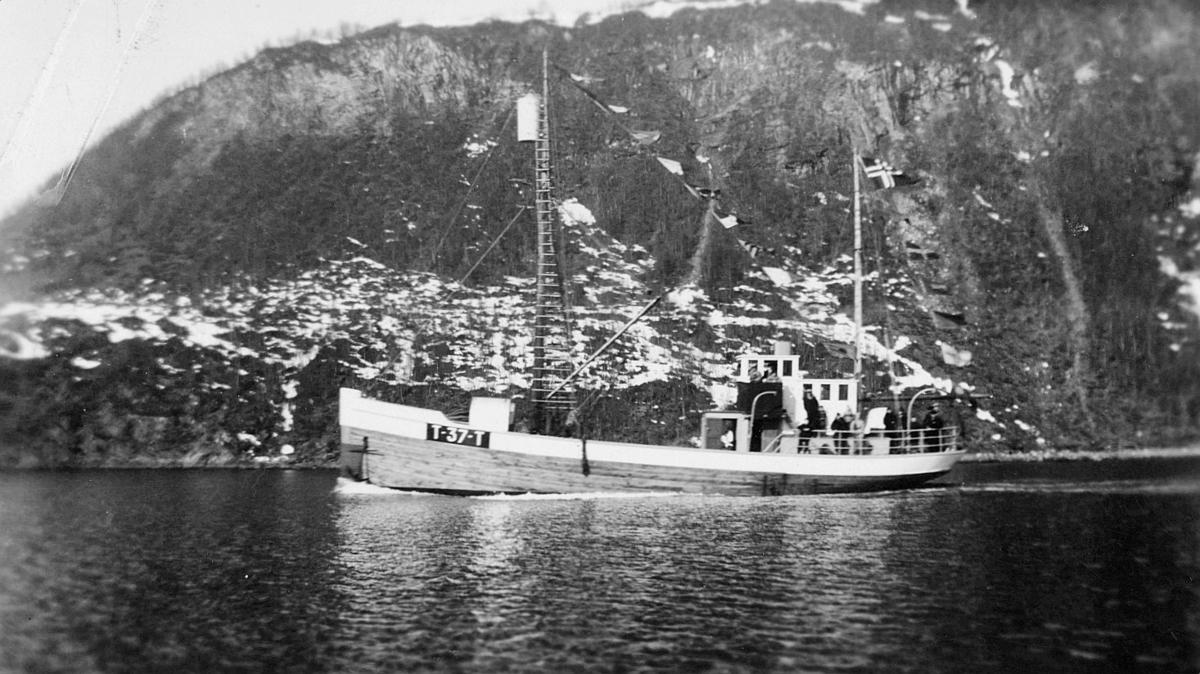 transport, båt, eksteriør, M/K Blåsel T-37- T