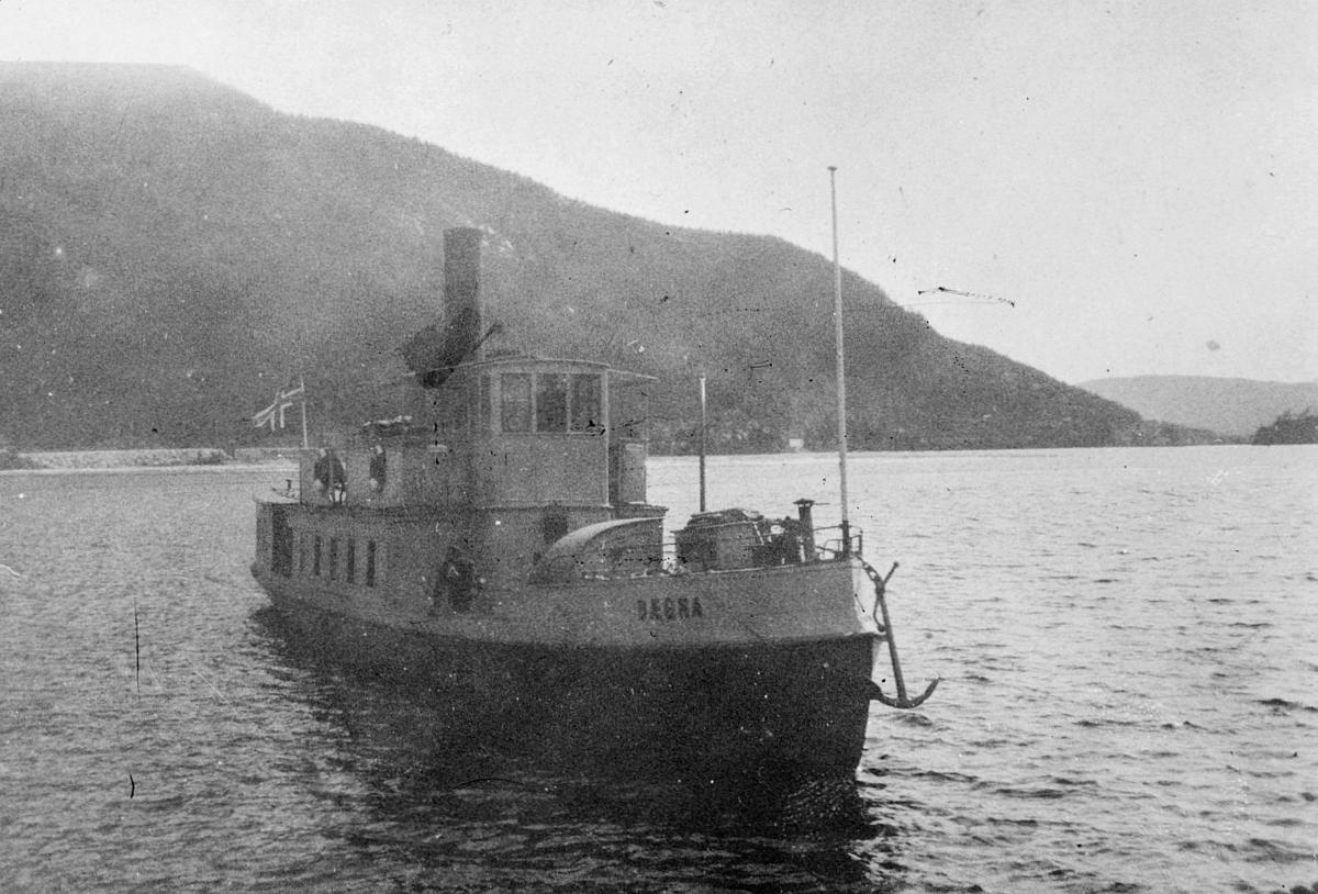transport, båt, eksteriør, D/S Bægna