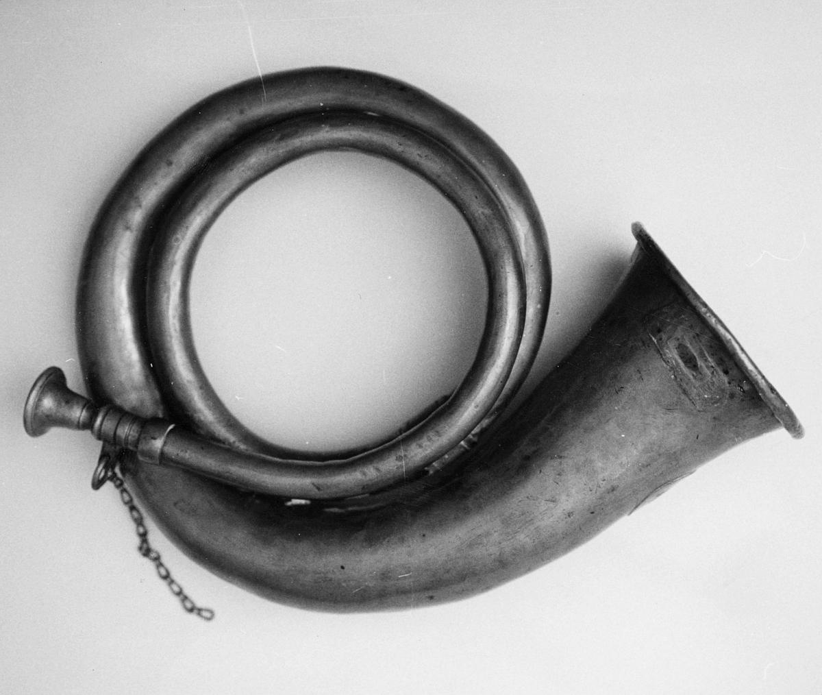 symboler, posthorn
