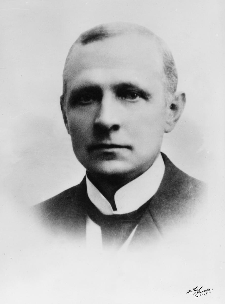 portrett, postmester, Ingebrigt Michael Michelsen