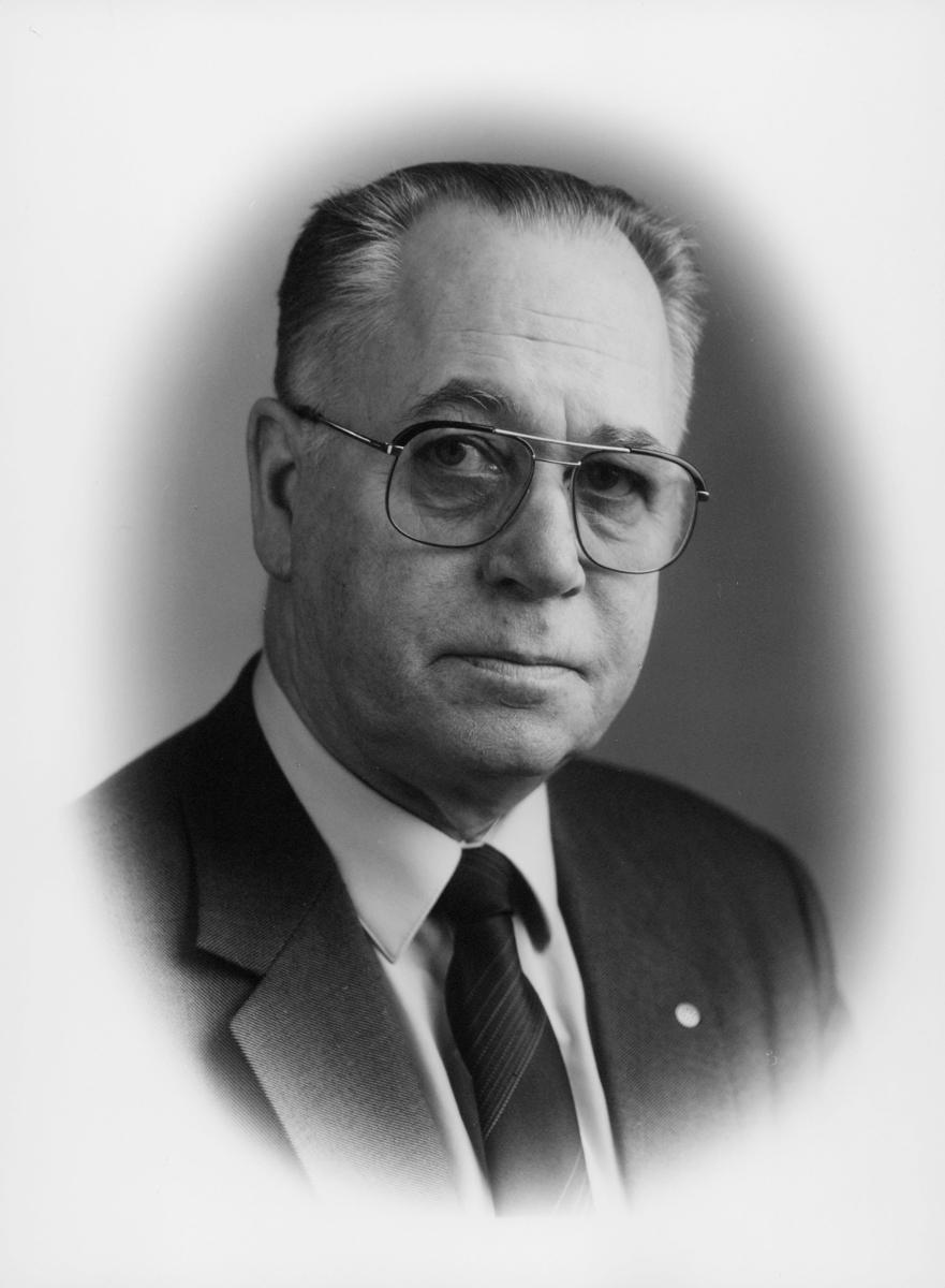 postmester, Svanholm Morten Andreas, portrett