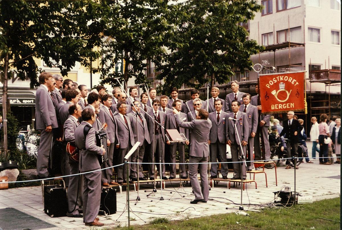 personale, velferd, postkoret i Bergen