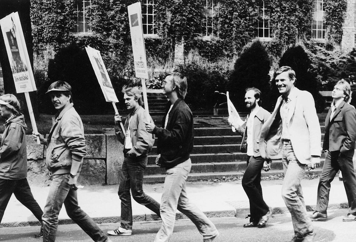 """kampanje, """"Sommer på posten"""", 4300 Sandnes, opptog i gaten"""