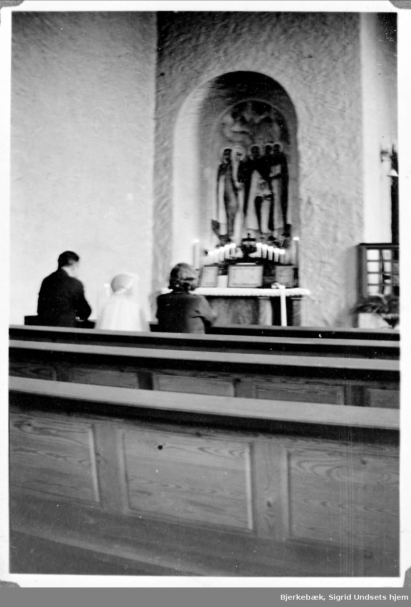 St.Dominikus kirke, kommunion