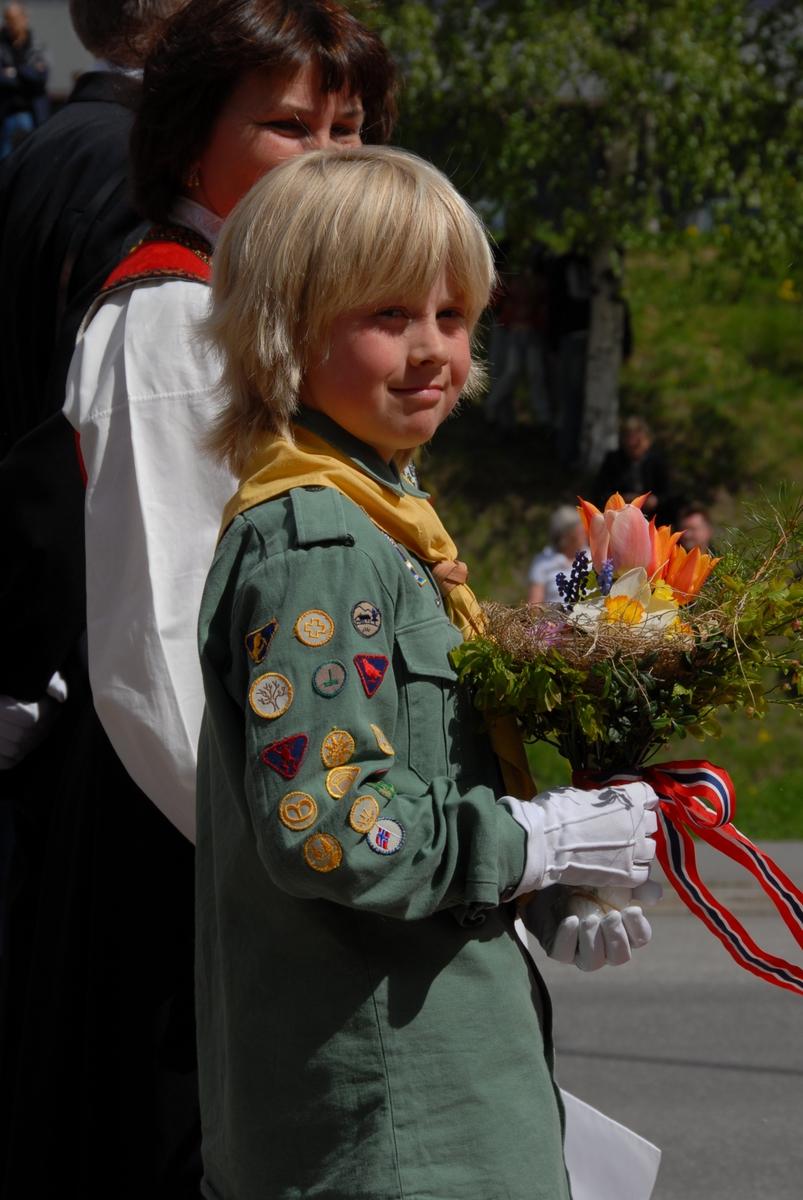 DOK:2007, Bjerkebæk, åpning, speider, velkomst,