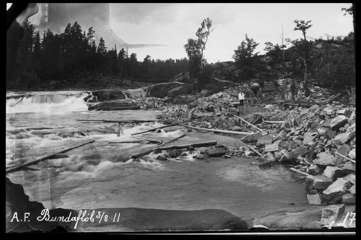 Arendal Fossekompani i begynnelsen av 1900-tallet CD merket 0474, Bilde: 4 Sted: Haugsjå Beskrivelse: Bunnløp