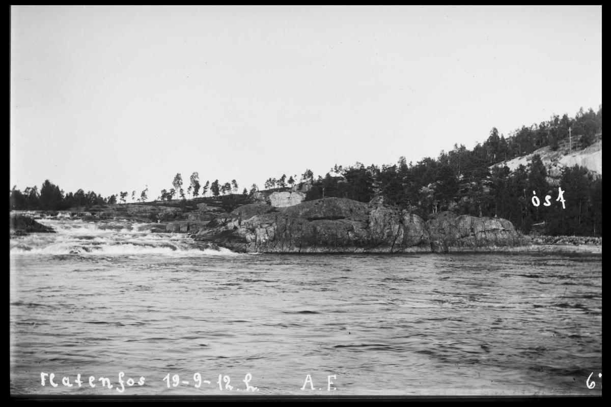 Arendal Fossekompani i begynnelsen av 1900-tallet CD merket 0474, Bilde: 62 Sted: Flatenfoss