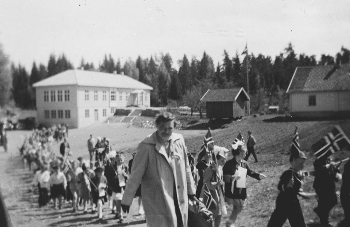 17. mai tog ved Nordby skole