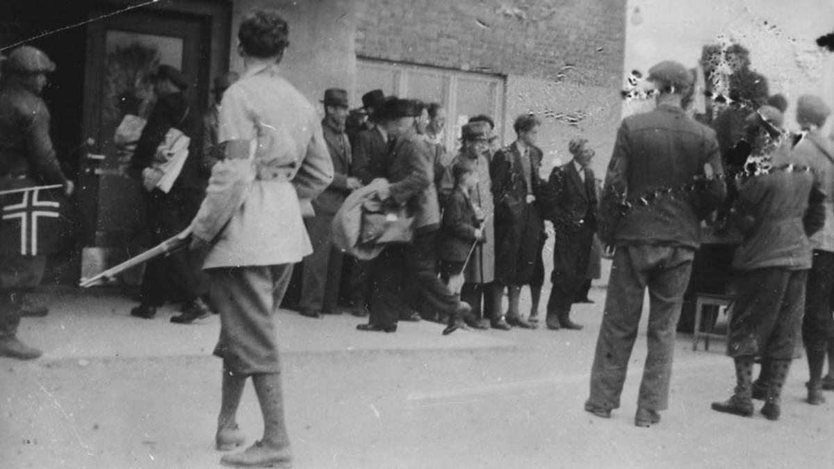 Hjemmefronten arresterer fanger våren 1945