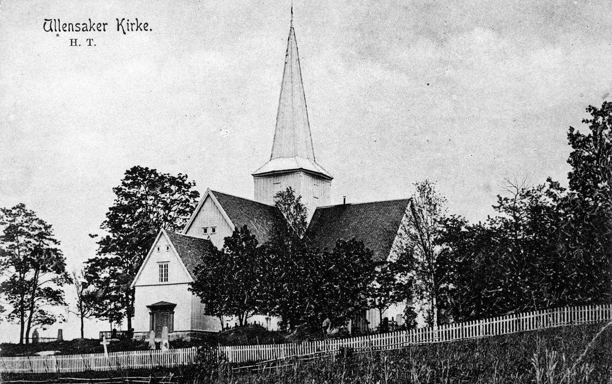 Ullensaker gamle kirke.
