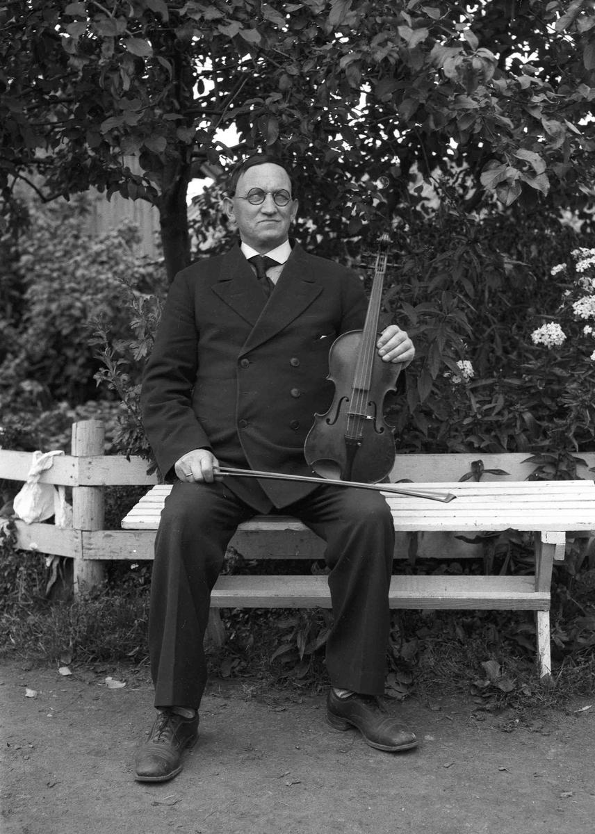 Portrett av musiker