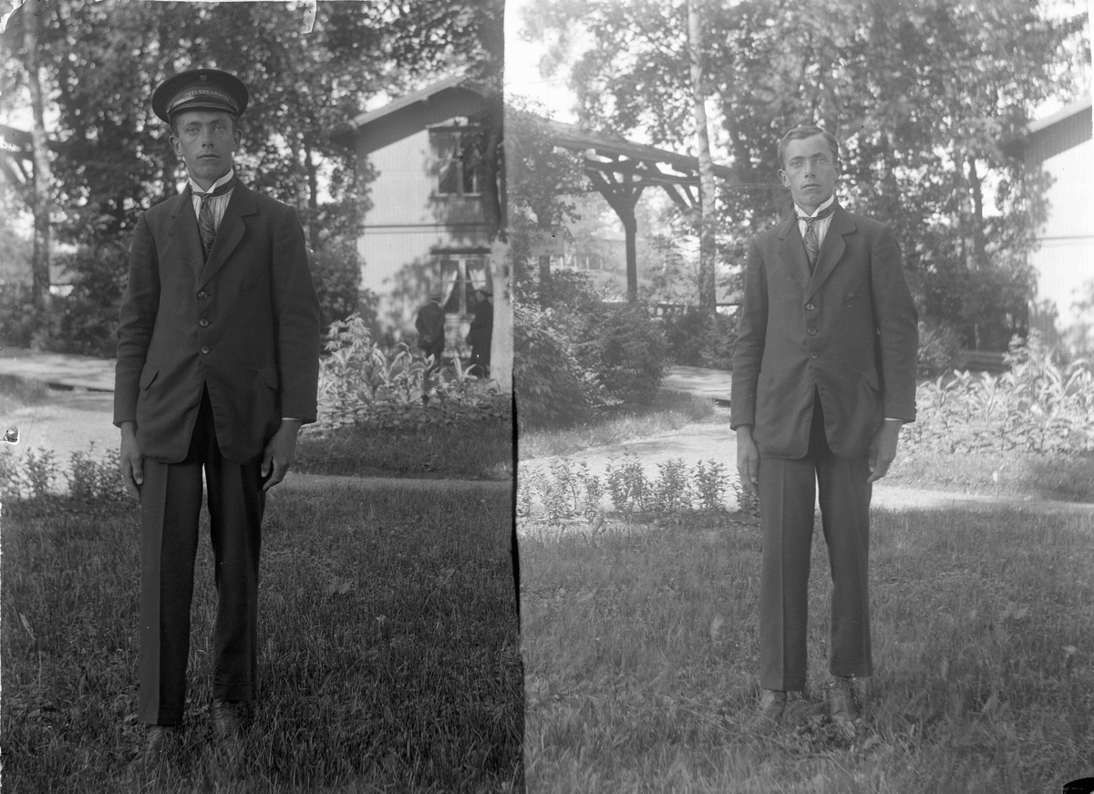 Mann med uniform fra Frelsesarmeen