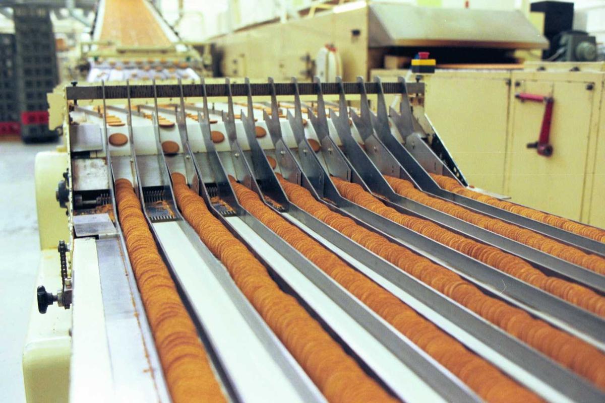 Maskiner, Gjende-kjeks, fabrikkmiljø