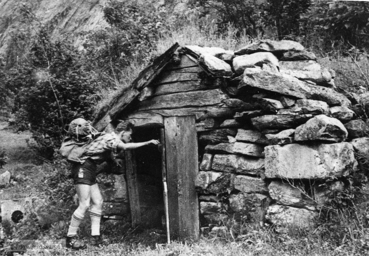 Smie Finnset, Eikesdal. 1957