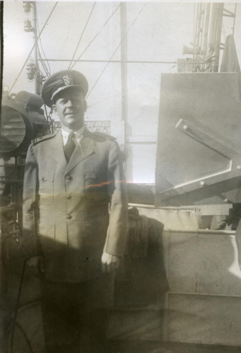 Album Ubåtjager King Haakon VII 1942-1946 Hesla.