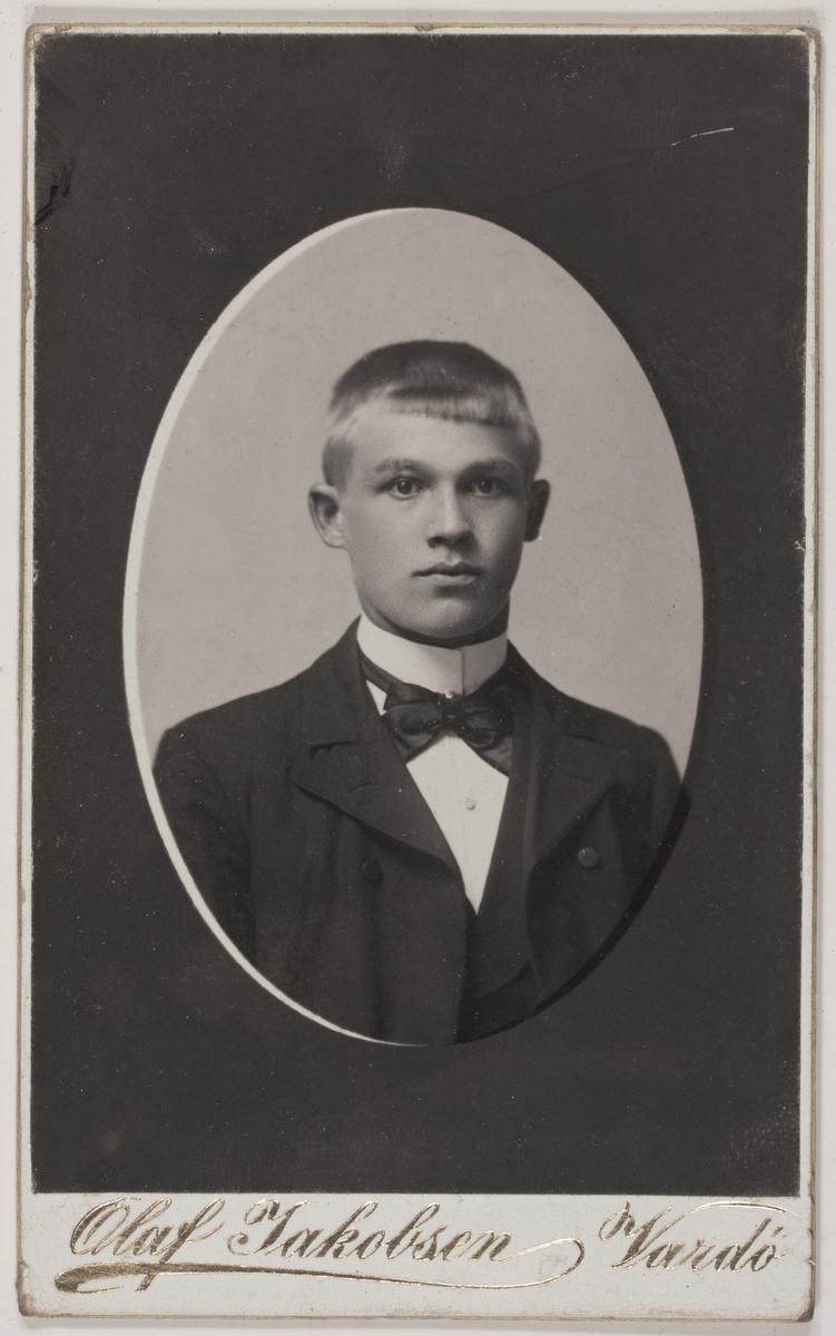 Visittkortfotografi. Ukjent. 1904.