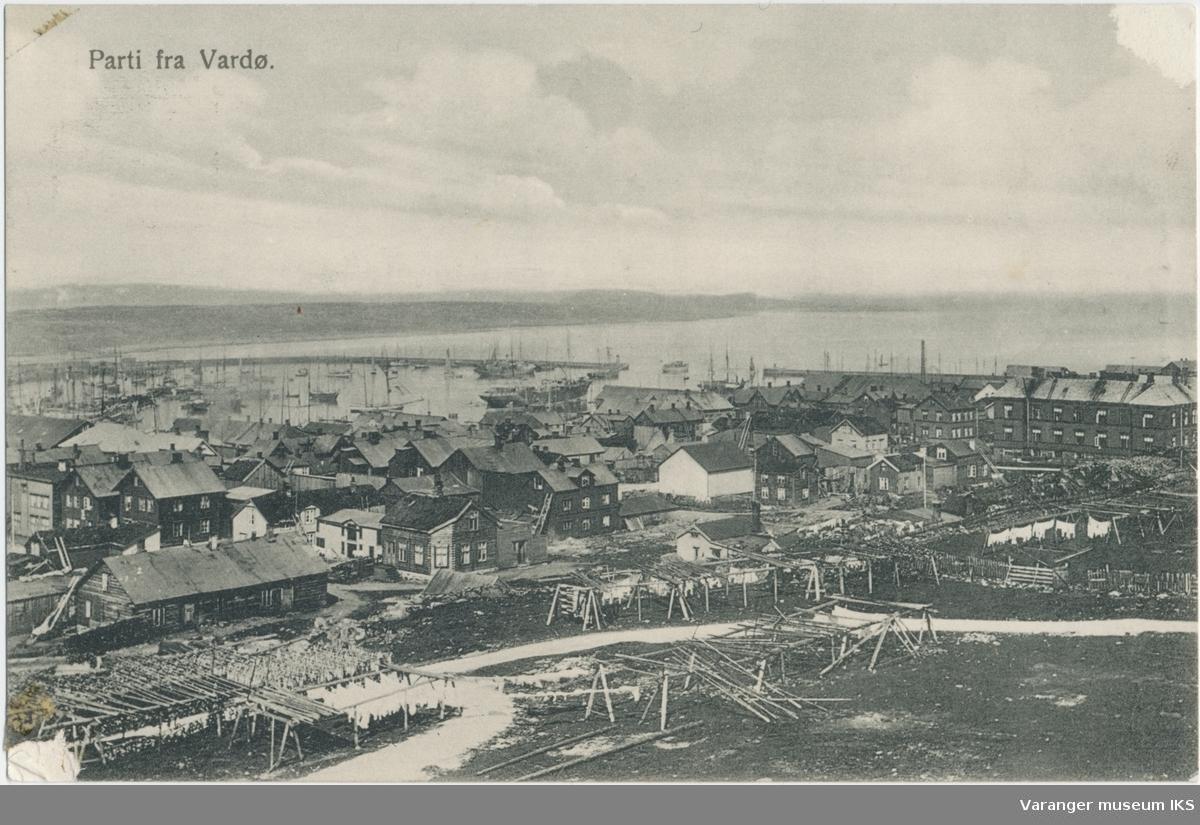 Postkort, Vestervågen sett fra Klondyke, ca. 1900