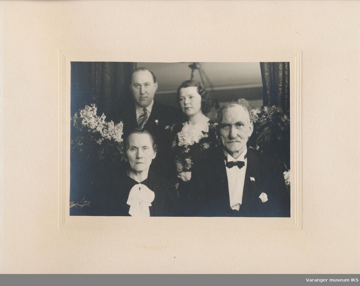 Gruppeportrett, familien Lie