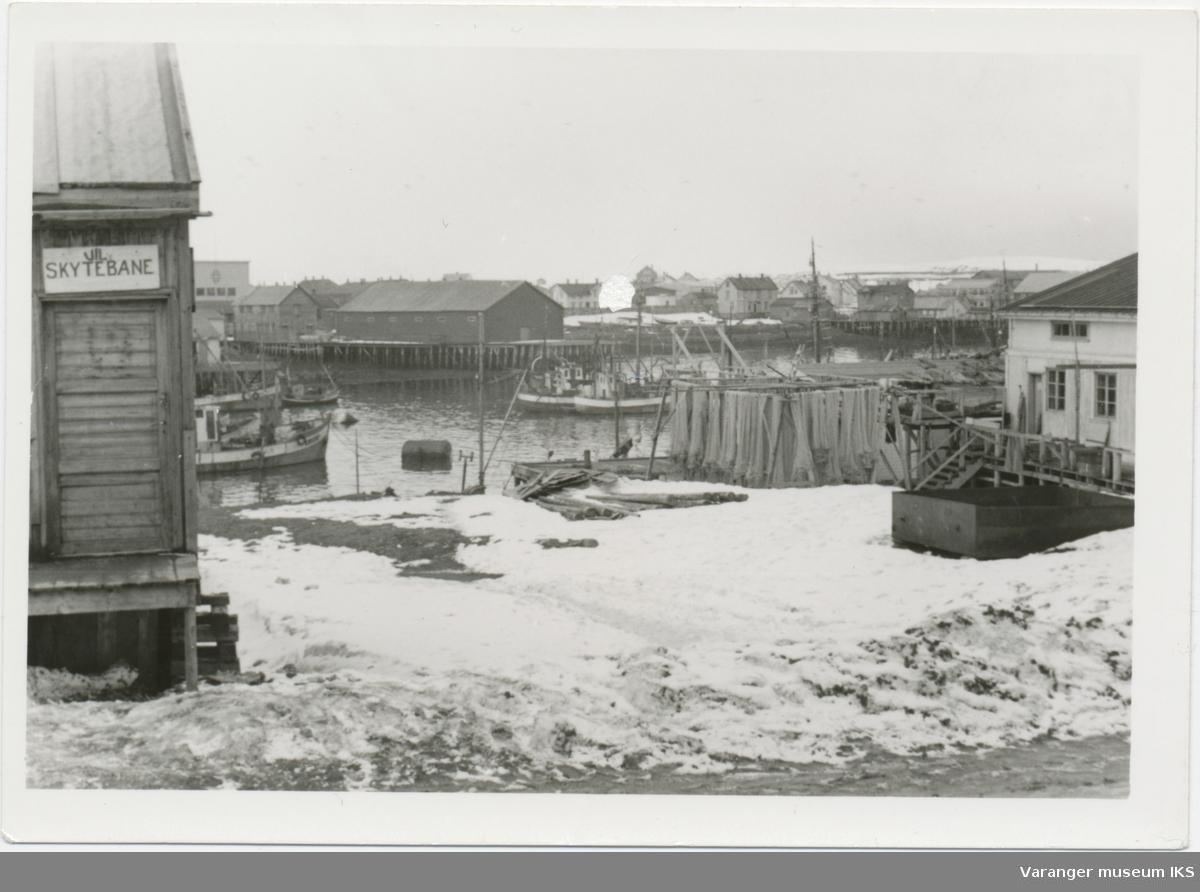 Nordre Våg sett fra Strandgata like etter krigen